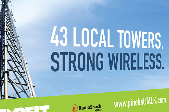 Pinebelt Wireless Campaign